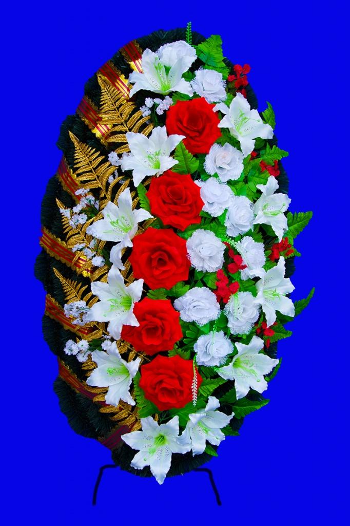 95555 Венок 110х55 Роза вуаль.jpg